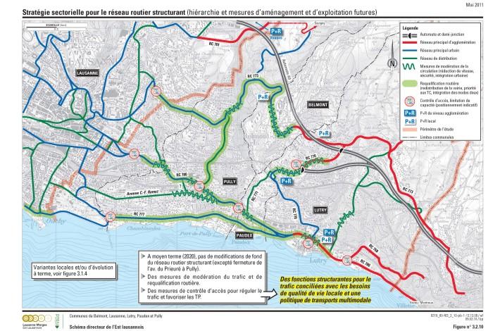 Stratégie pour le réseau routier structurant © Transitec